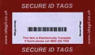 security tags for permanent marking