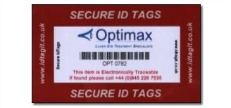 Product Range of Security Tags